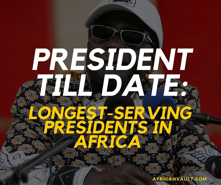 Longest Serving African Presidents